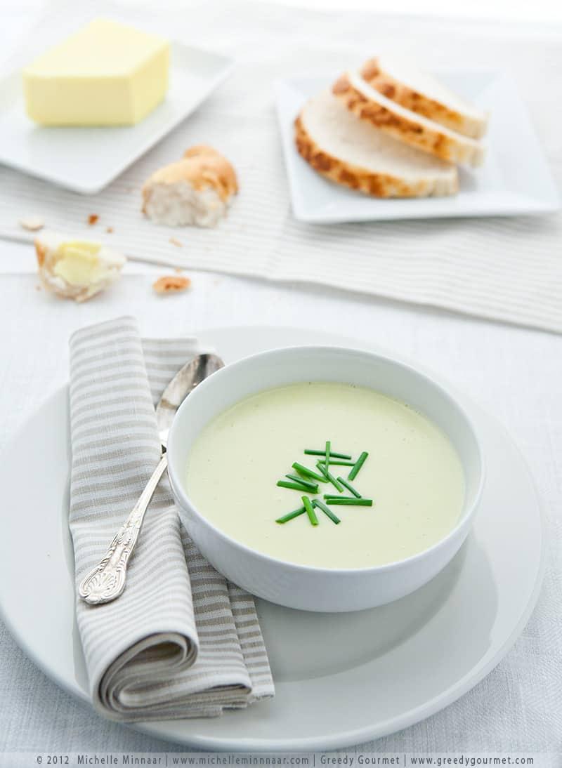 Simple Leek & Potato Soup