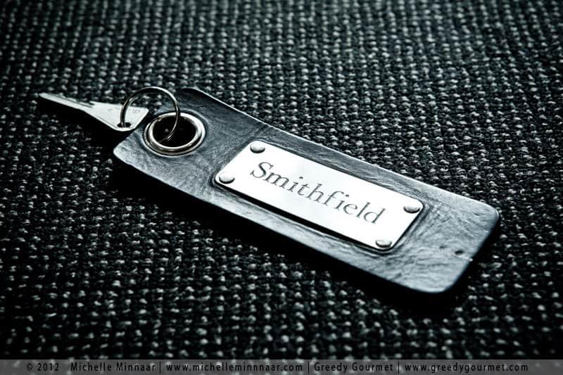 Smithfield Room Key at Fox & Anchor