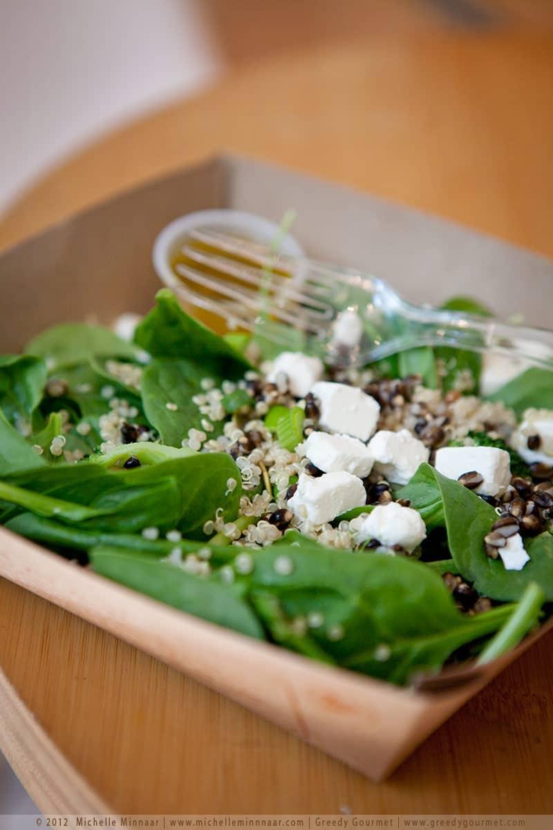 Quinoa & Black Barley Superfoods Salad