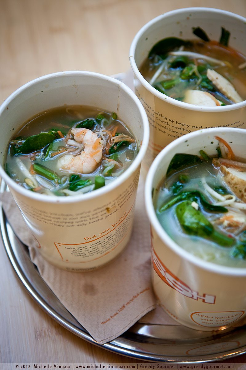 Zero Noodles with Lemongrass Tom Yum Prawns