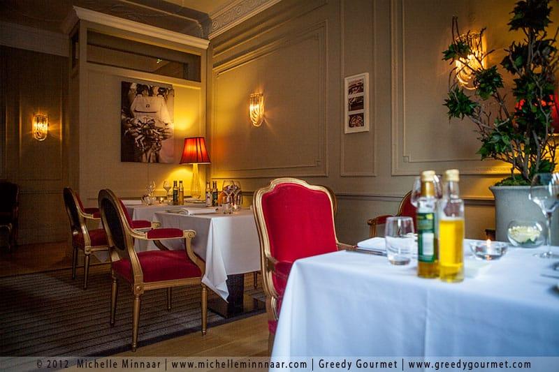 The Cadogan's restaurant in London