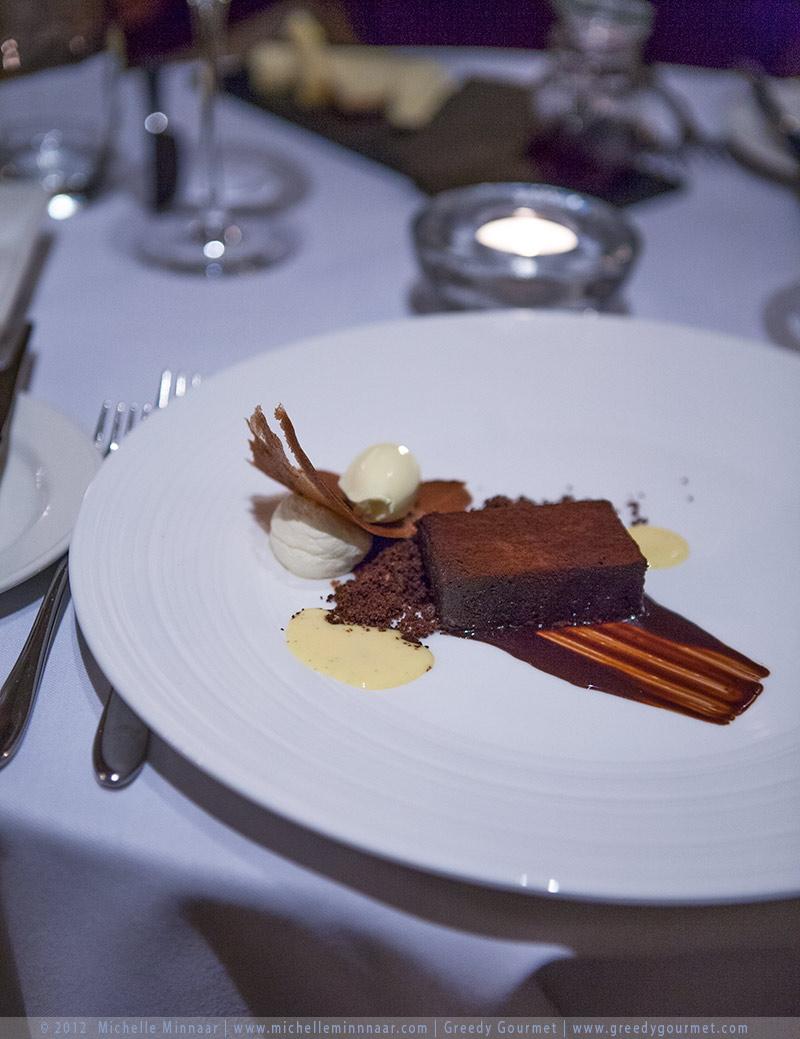 Tommi's Chocolate & Chilli cake with Cornish Clotted Cream