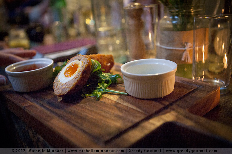 Scotch Egg at L Mulligan Grocer
