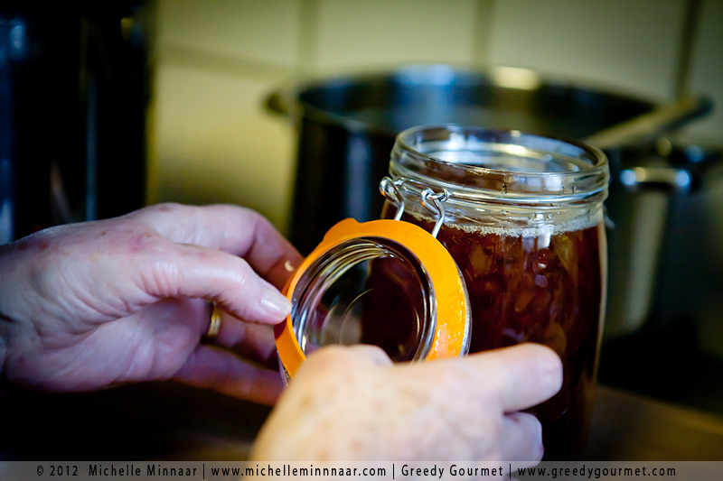 Rubber Seals on Marmalade Jars