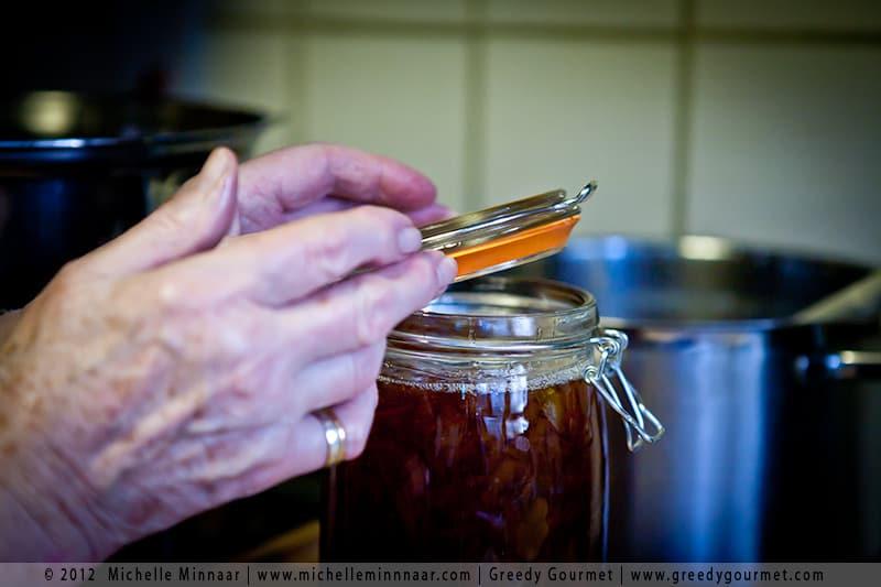 Sealing Marmalade Jars
