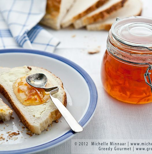 Seville Orange Marmalade for Breakfast