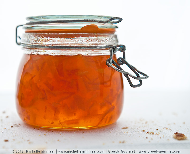 Marmalade - the finished product