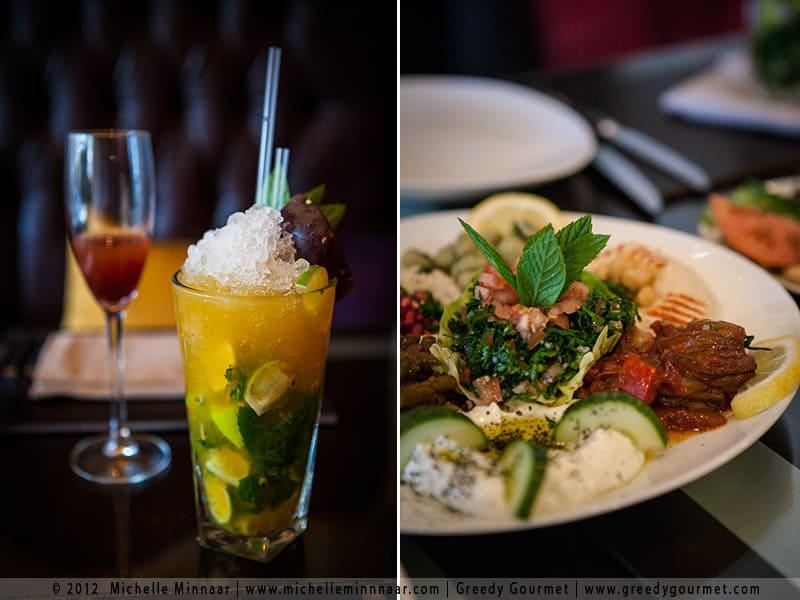 Lebanese Mezze Platter & Cocktails at Mamounia Lounge