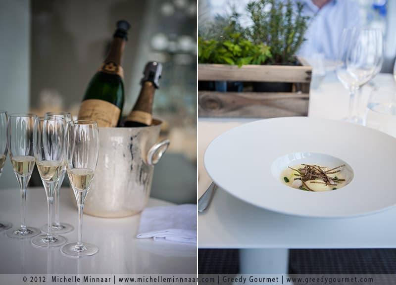 Joseph Perrier Champagne & Cheese Dumplings