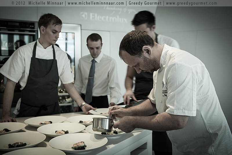Simon Rogan at The Cube in London