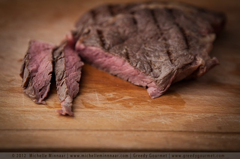 Sliced Sous-Vide Steak