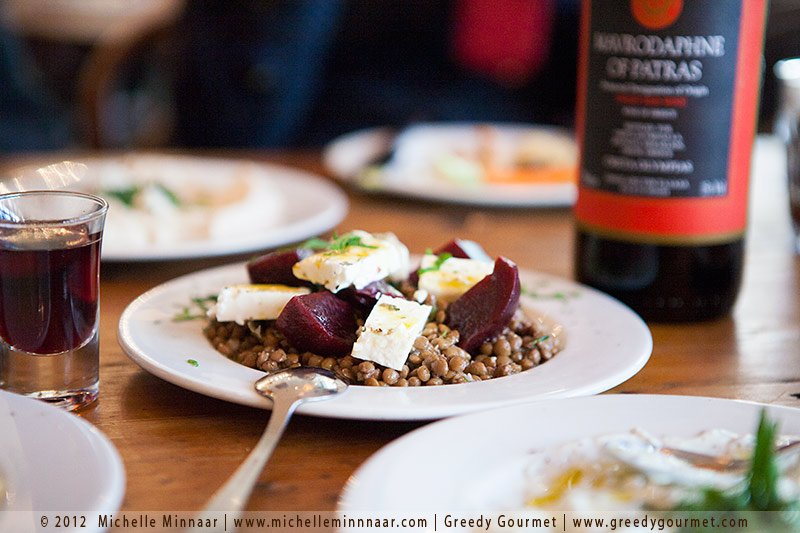 Beetroot, Feta & Lentil Salad