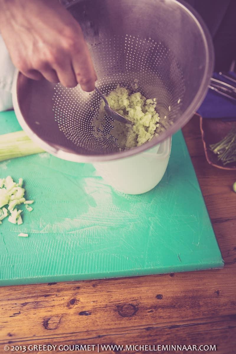 Salting Cucumber