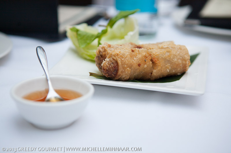 Vietnamese Pork & Prawn Rolls