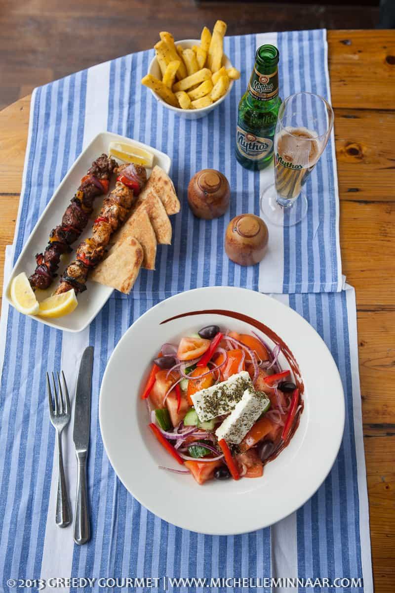Food at The Real Greek
