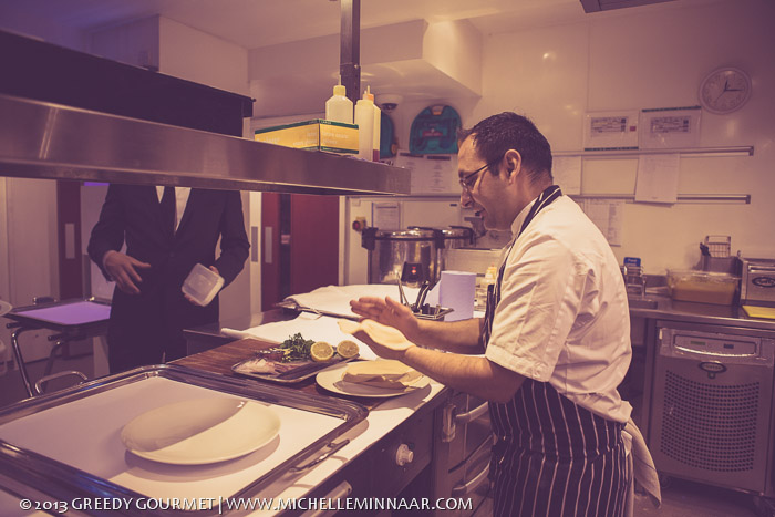 Head Chef at London Restaurant