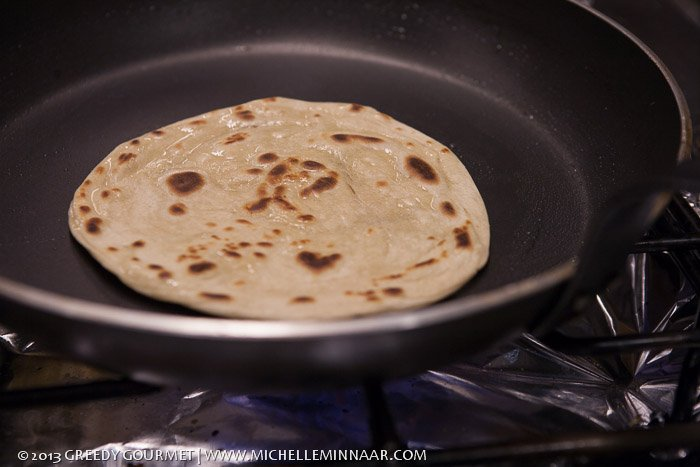 Browned Paratha