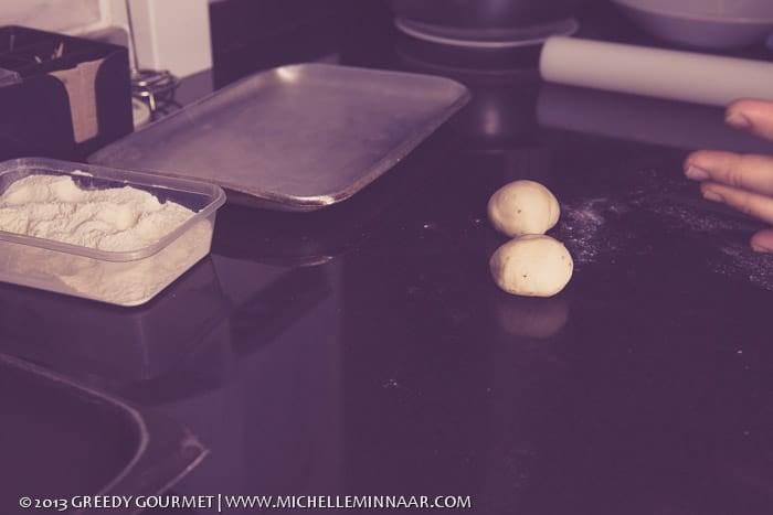 Little dough balls