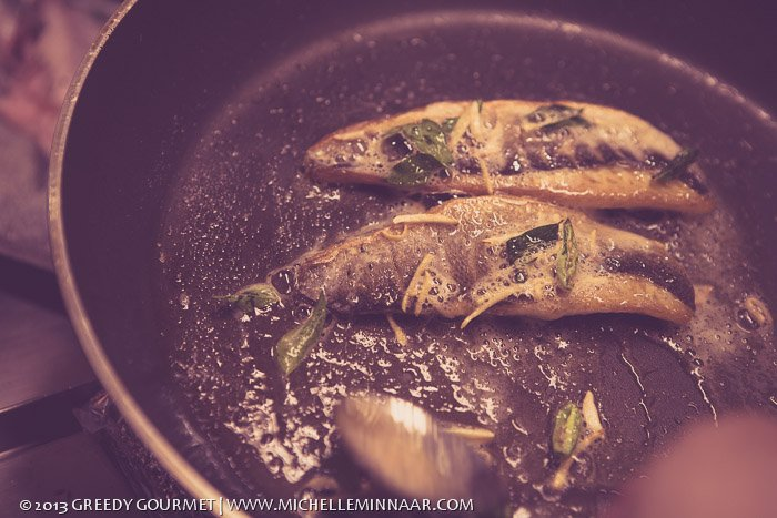 Cooking Fish Unilaterally