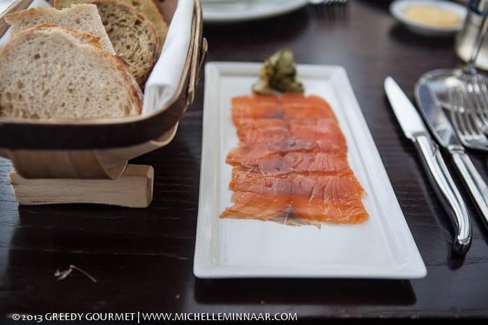 Gin Cured Salmon