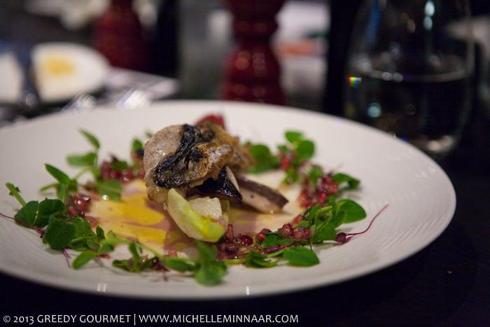 Cornish Crackling Mackerel Salad