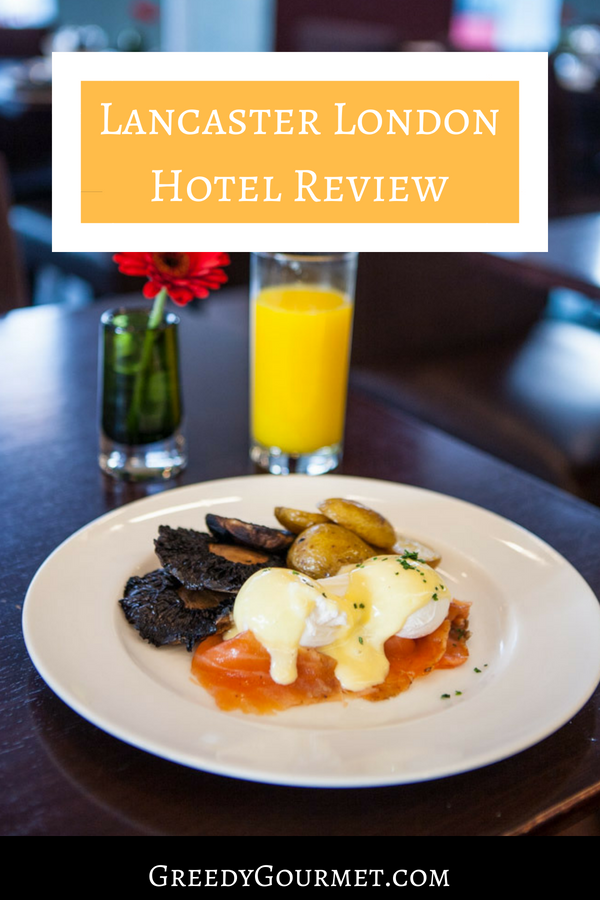 Lancaster London Hotel Review Pin