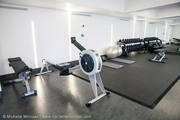 Rowing machine and hotel's gym