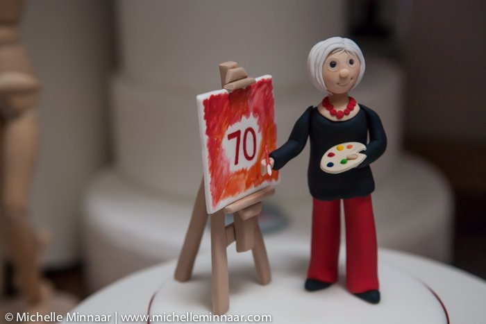 Granny made of fondant