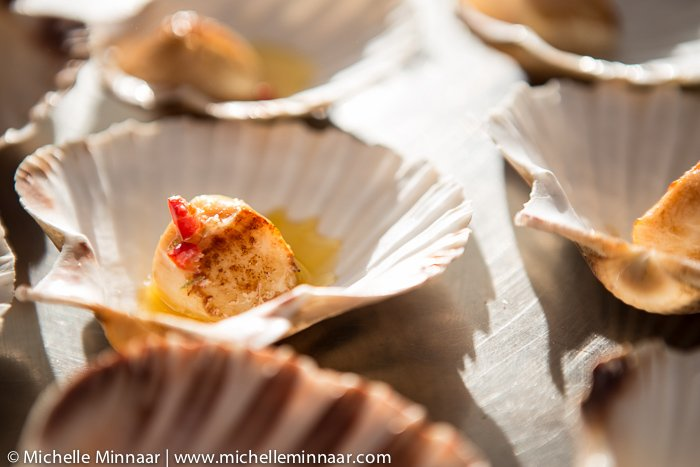 Scallops with Chili & Lime Butter