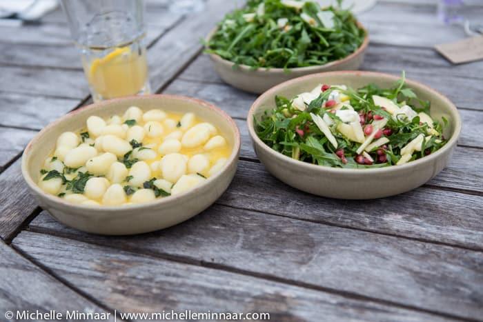 Potato Gnocchi & Salad