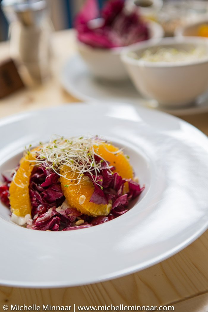 Blood Orange, Radicchio and Pomegranate Salad