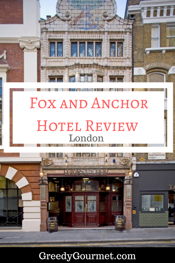 Fox and Anchor Hotel Review Pin
