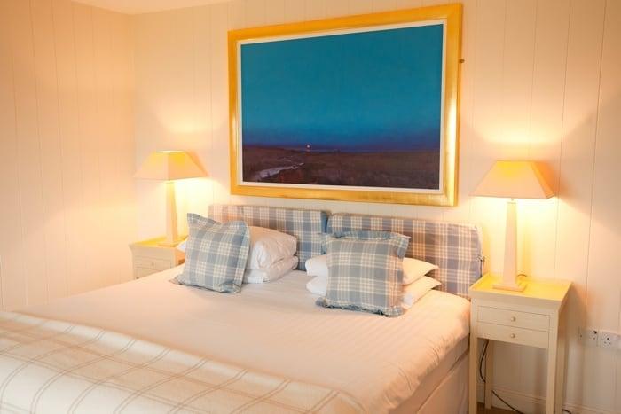 Bedroom at Hell Bay Hotel