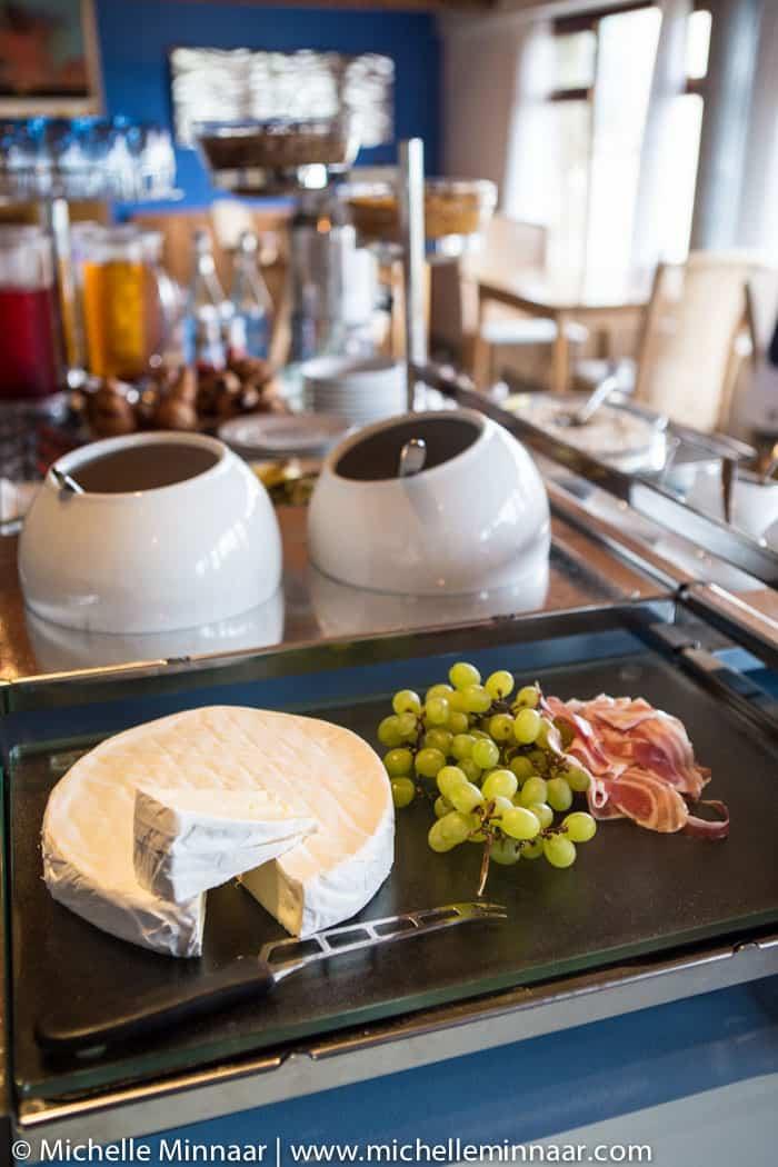 Fruit, Cheese & Parma Ham