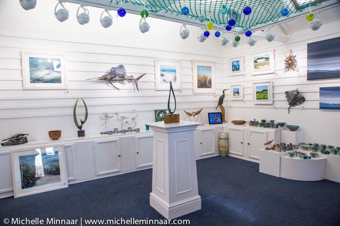 Inside Tresco Gallery