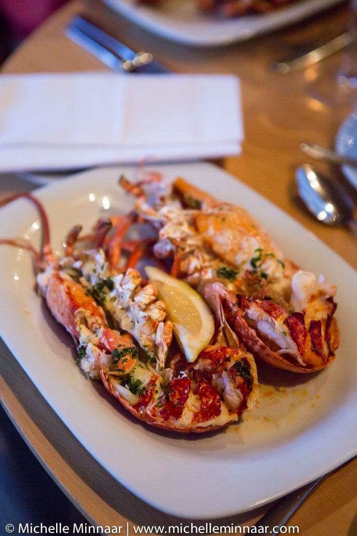 Lobster with Garlic & Butter