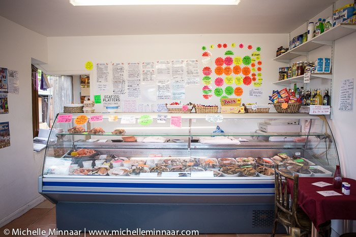 Cold Seafood Counter
