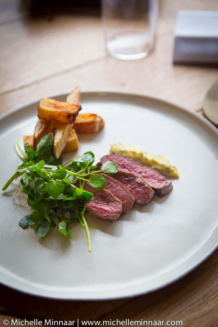 Steak, Chips & Clarified Butter