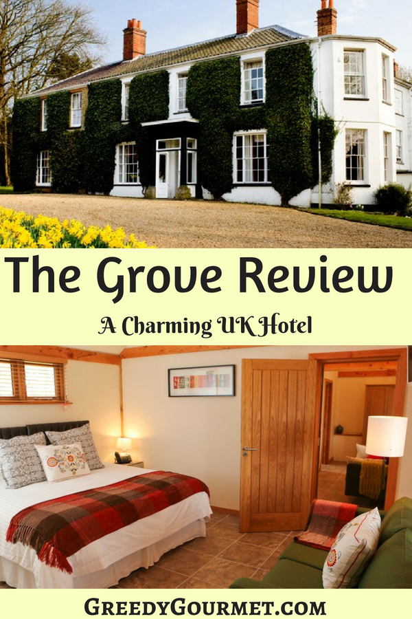 The Grove Hotel Review Pin