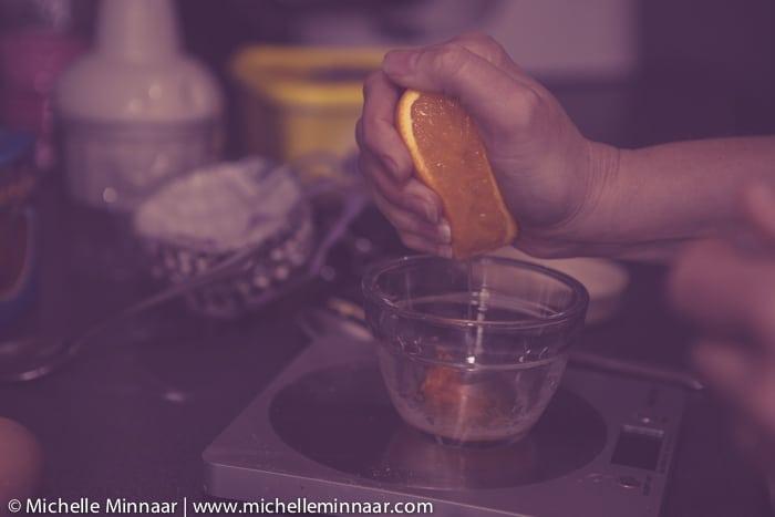 Add orange flavour