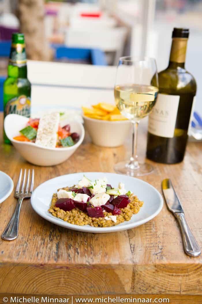 The Real Greek restaurant's starter