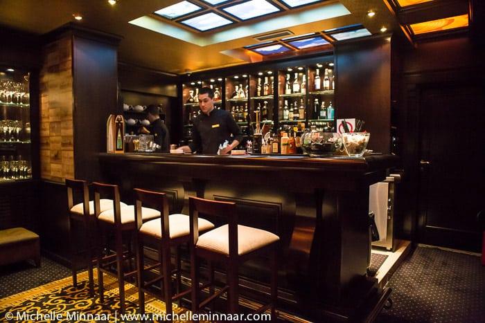 Jazz bar in the basement