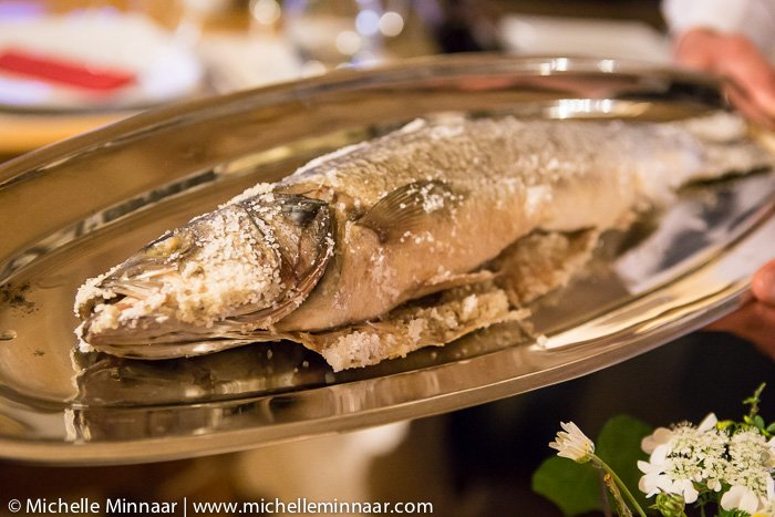 Whole cooked fish