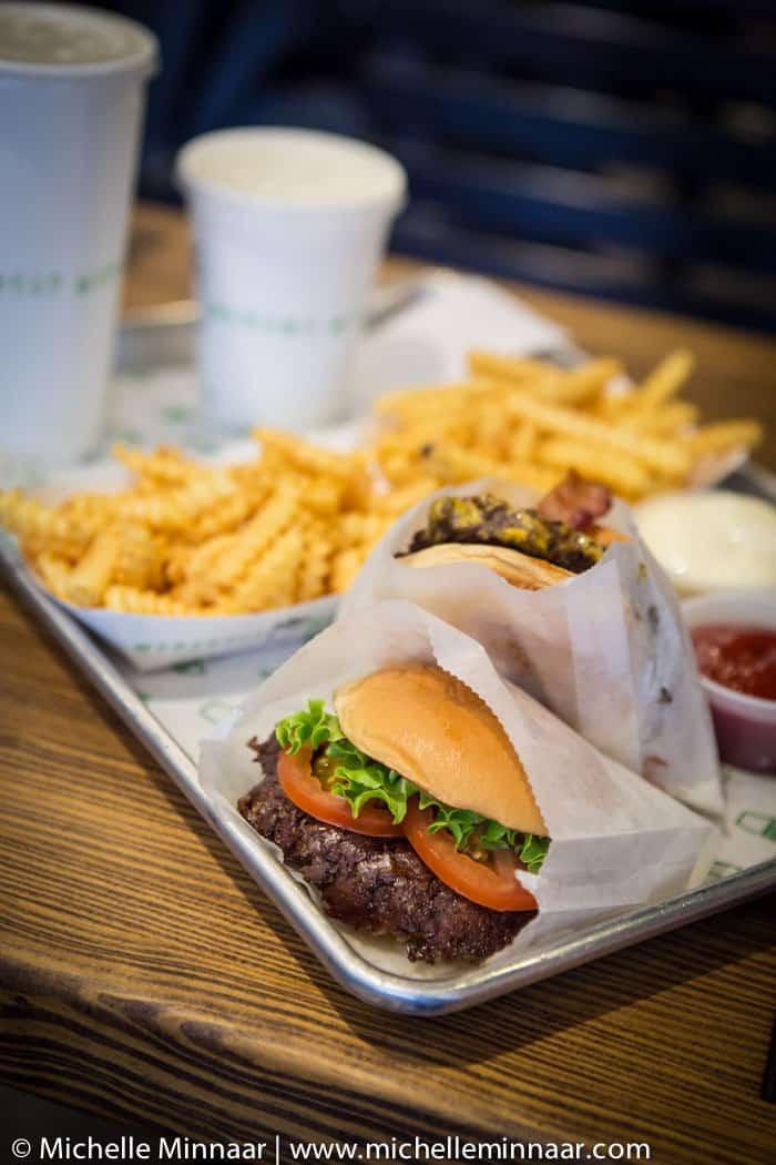 Shake Shack burger fries