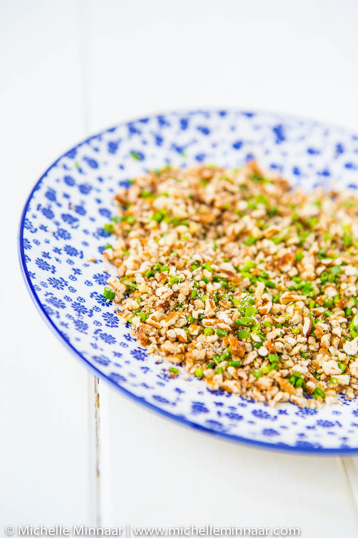 Chopped Pecans & Chives