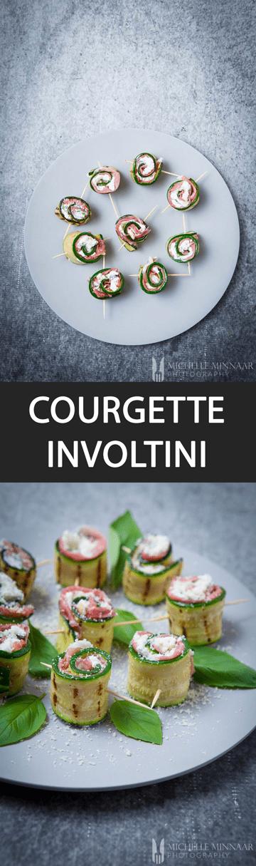 San Daniele Ham Courgette Involtini