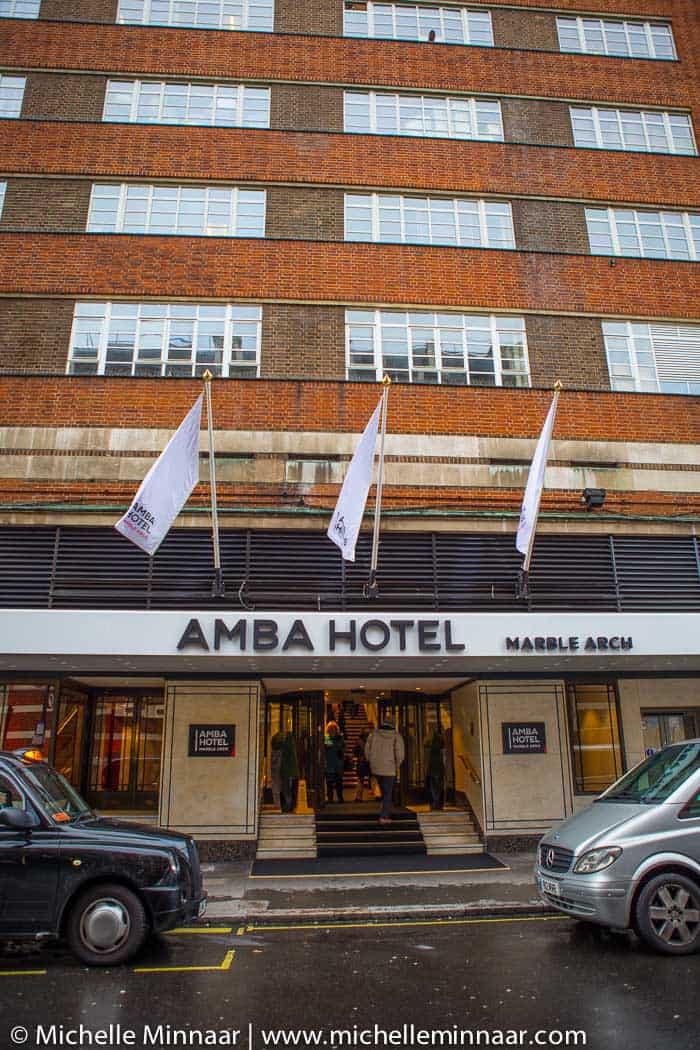 Hotel in London City Center