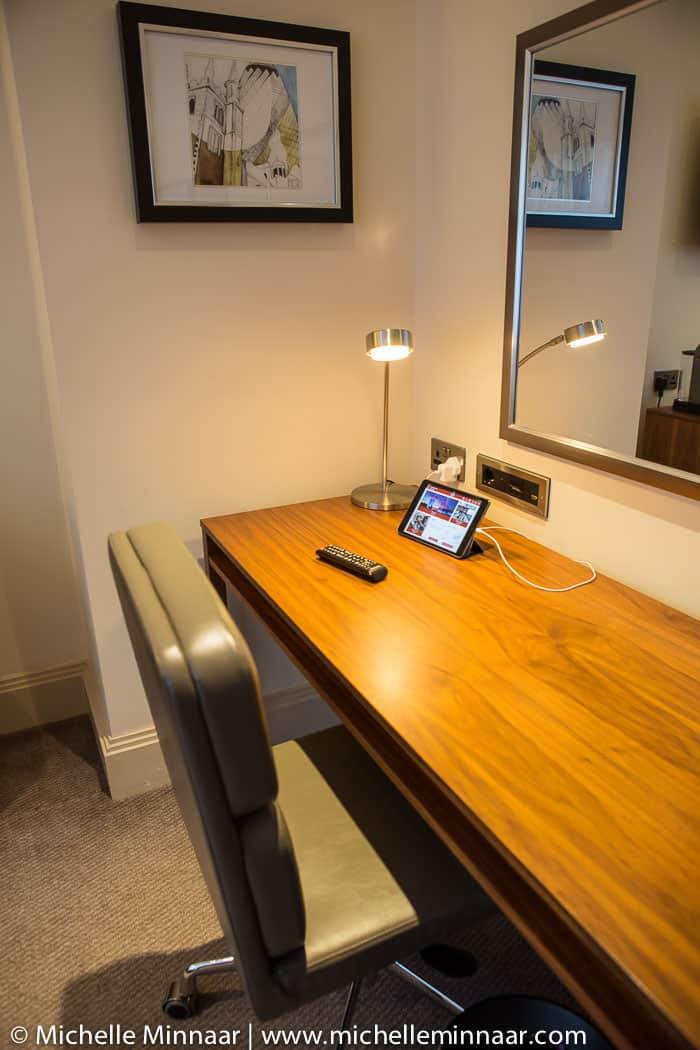 Internet facilities at hotel