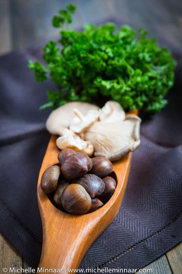 Chestnut, Mushrooms & Parsley