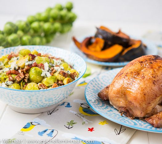 Sprouts with chicken